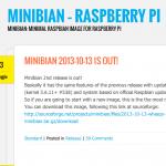 Minibian – Raspberry Pi Os