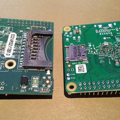 Erste Eindrücke des Raspberry Pi B +