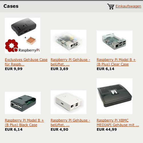 Webshop-Cases