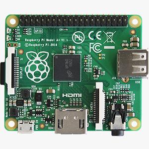 Neuer Raspberry Pi A+